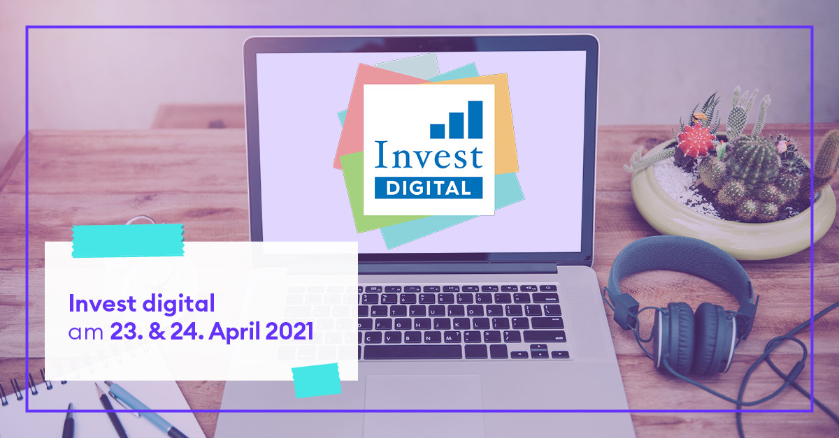 Messe Invest digital 2021 - save the date
